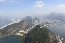 View of Rio de Janiero taken from the Sugarloaf Mountain